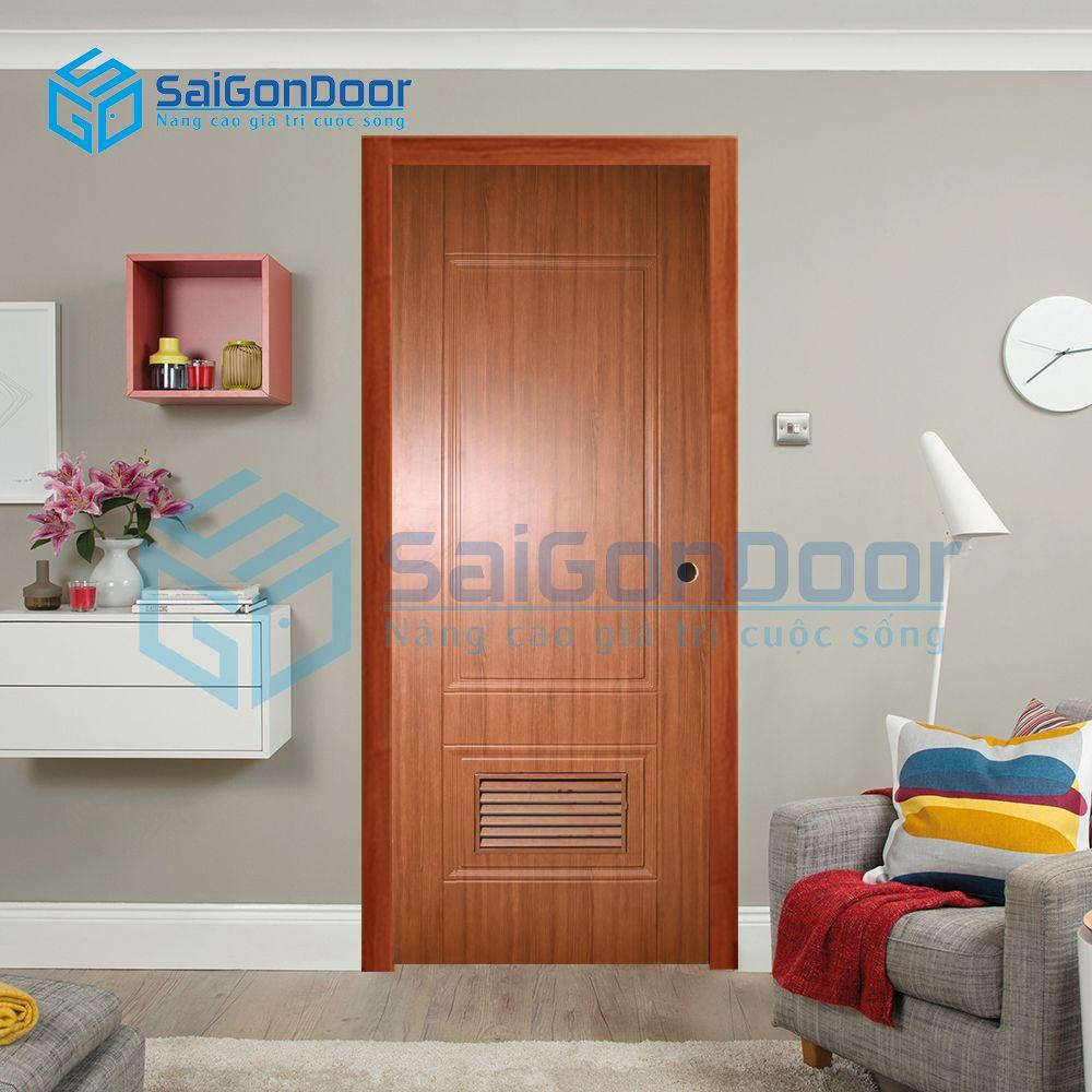 Cửa nhựa giả gỗ hợp chuẩn SYA.457-A04