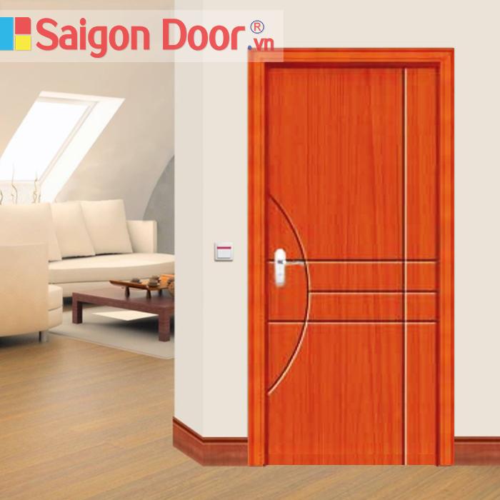 Cửa cách âm chung cư do SaiGonDoor thi công chắc chắn, đẹp và cách âm tốt
